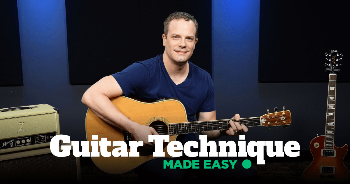 Guitar Technique Made Easy Guitareo