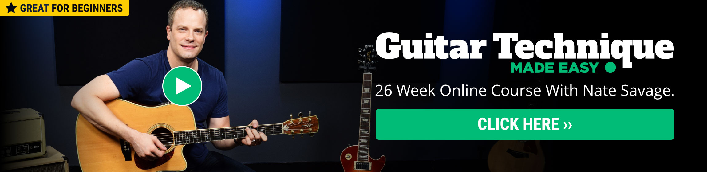 Guitar lessons for beginners 12 free step by step videos also if you want another look at learning how to play the guitar you can visit howtoplayguitar baditri Images